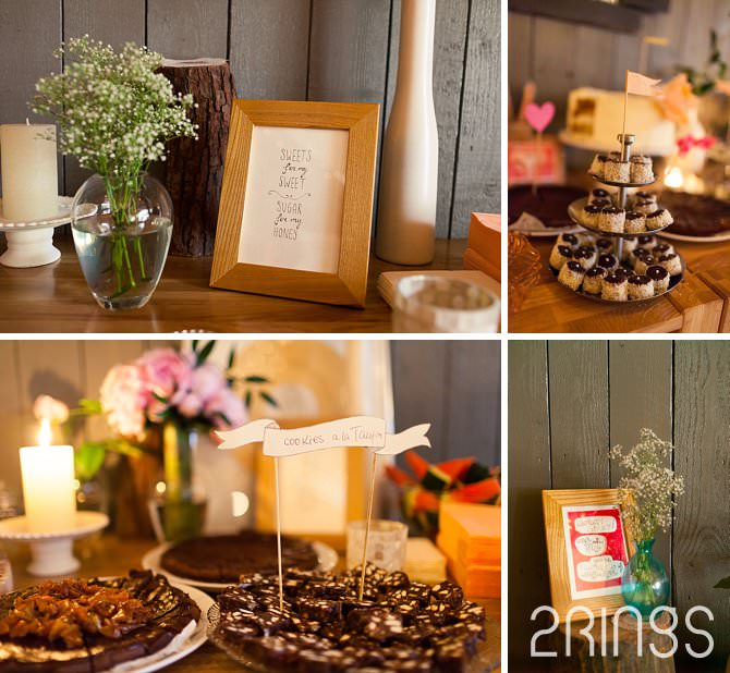 wedding details dinner