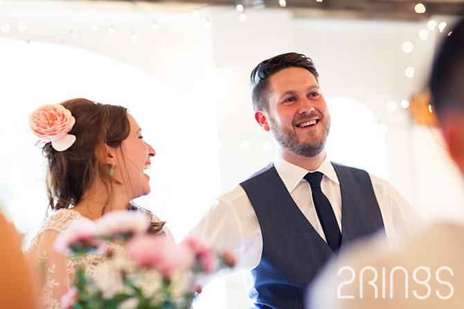 Bruiloft details dinner