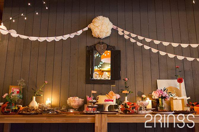 zoete tafel bruiloft